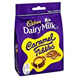 Cadbury Dairy Milk Caramel Nibbles 120 G Bag (Pack of 6)