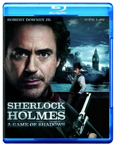 Cover art for  Sherlock Holmes: A Game of Shadows (Movie-Only Edition + UltraViolet Digital Copy) (Blu-ray)