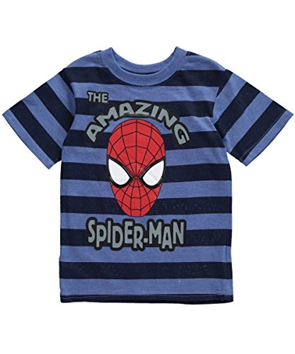 "Spider-Man Little Boys' Toddler ""Amazing Stripes"" T-Shirt"