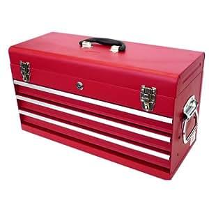 大型スチール工具箱 TBD1331‐X 赤