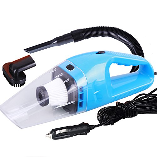 Cherni Car Vacuum Cleaner Handheld Portable 120W Mini Dirt Devil Vacuum with 16ft Power Cable (Blue) (Vacuum Cleaner Car Portable compare prices)