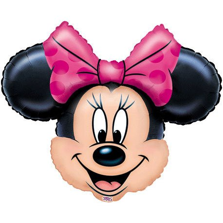 "Why Should You Buy Minnie Mouse Head 28"" Jumbo Foil Balloon"