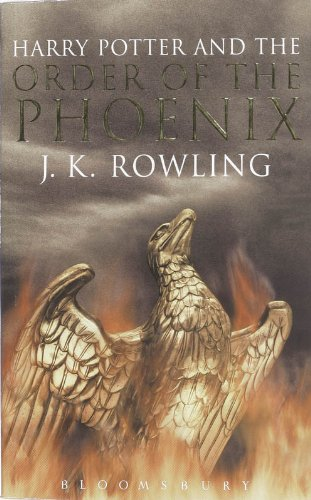 Harry Potter and the Order of the Phoenix (Book 5): Adult Edition ISBN-13 9780747570738