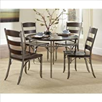 Hot Sale Home Style 5052-318 Bordeaux 5-Piece Dining Set, Espresso Finish