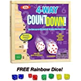 4-way Countdown with Free Rainbow Dice Pack