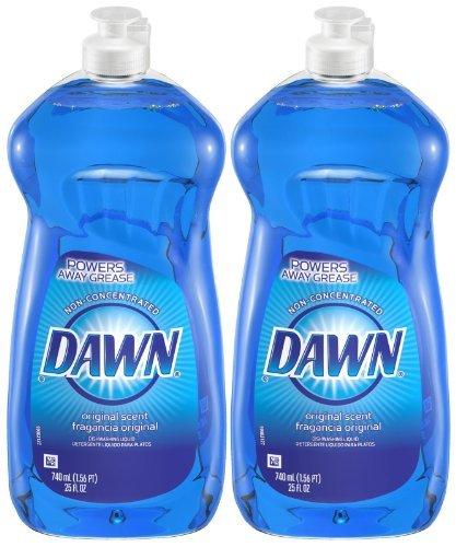 Dawn Dishwashing Liquid - 25 oz - Original - 2 pk (Dawn Dish Soap 25 Oz compare prices)