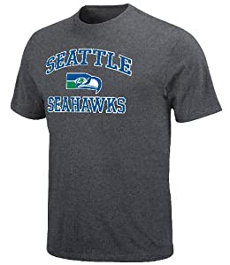 VF Seattle Seahawks Charcoal Heart & Soul T-Shirt from VF