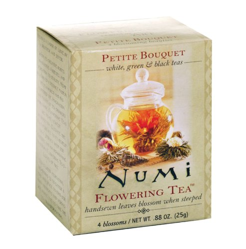 51rdf5PZjiL + Numi Tea Petite Bouquet   Assorted Flowering Teas, 4 Count Box (Pack of 12) Promo Offer