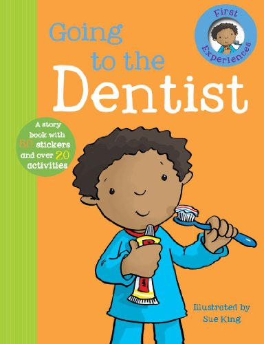 Going To the Dentist (First Experience Sticker Storybook)