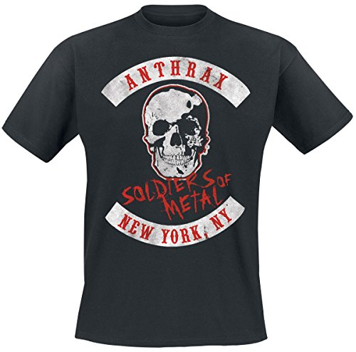 Anthrax Soldiers Of Metal T-Shirt nero XL