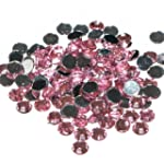 Pack of 1000 x Light Pink Crystal Fla...