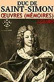 Duc de Saint-Simon - Oeuvres (M�moires) LCI/80 (Annot�)