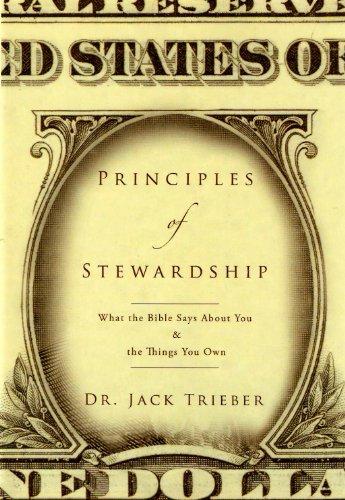 Principles of Stweardship (Jack Trieber compare prices)