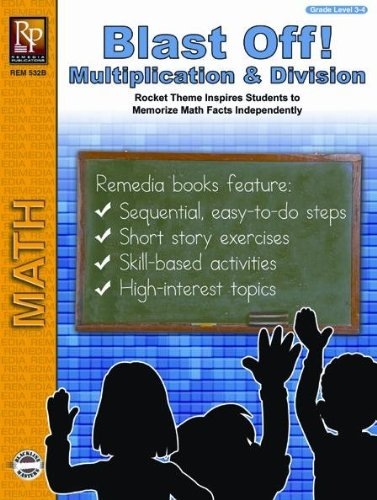 Remedia Publications Blast Off Multiplication and Division - 1