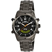 Timex Expedition Analog-Digital Black Dial Men's Watch - T49826