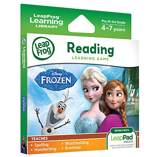 LeapFrog Disney Frozen Learning Game (for LeapPad Tablets) JungleDealsBlog.com
