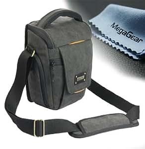 Megagear sac photo housse tui sacoche pour canon eos 760d for Housse canon 700d