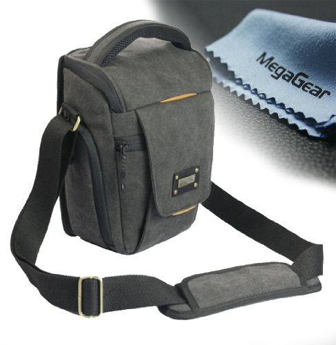 Megagear ''Ultra Light'' High Quality Professional Camera Case Bag For Canon Rebel T4I, Canon Eos Rebel T5I, Rebel Sl1 ,Canon 5D Mk Iii, Canon 70D, 6D 60D, 7D, T5I, 650D, 600D, 700D, 1100D, Nikon D610, D600, D800, D810, D7100, D3200, Nikon D3300, D5300, D