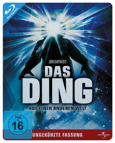 Das Ding aus einer anderen Welt - Steelbook/Ungekürzte Fassung [Blu-ray]