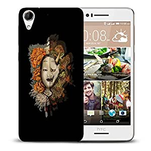 Snoogg Multiple Faces Designer Protective Back Case Cover For HTC DESIRE 728 DUAL SIM