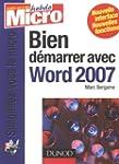Bien d�marrer avec Word 2007