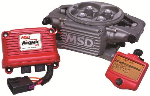 MSD 2910 Atomic TBI Basic Kit (Atomic Fuel Injection compare prices)