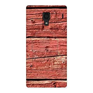 Stylish Pale Red Print Back Case Cover for Redmi 1S