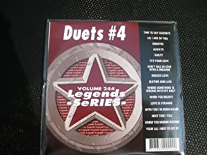 Duets #4 Karaoke Disc - Legends Series CDG #244