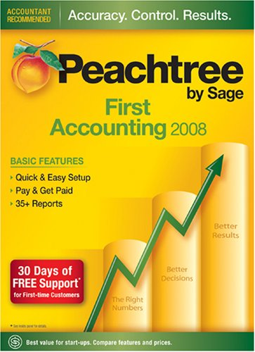Peachtree First Accounting 2008