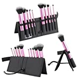 CICI&SISI 10 Pcs Makeup Brush Set Cosmetic Foundation Buffing Contour shadow Brush Only For Your Beauty Professional Quality