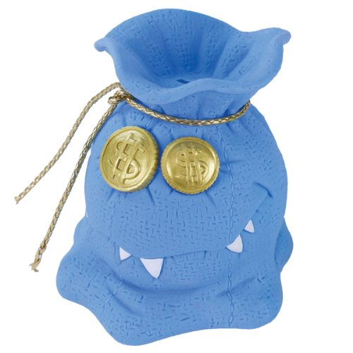 Money Grubber Bank - Blue - 1