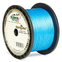 Power Pro Super 8 Slick Braided Fishing Line, 15-Pound/1500-Yard, Marine Blue