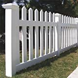 Genova Building Products FPK103 Traditional Picket Fence Section