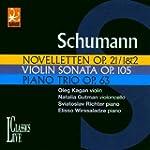 Novelettes op.21 / Sonate pour violon...