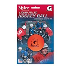 Buy Mylec Warm Weather Liquid Filled G-Force Hockey Balls, (Pack of 3) ORANGE by Mylec