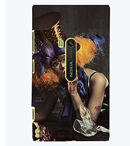 Printvisa Vampire Girl Picture Back Case Cover for Nokia Lumia 920::Microsoft Lumia 920
