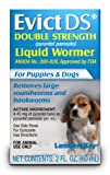 Lambert Kay Evict Double Strength Liquid Wormer for Puppies and Dogs, 2-Ounce