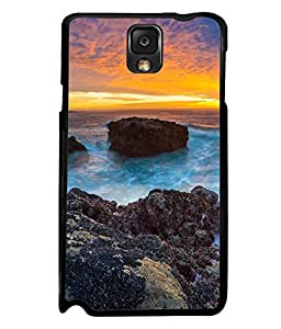 printtech Beach Sunset Sea Ocean Back Case Cover for Samsung Galaxy Note 3 N9000::Samsung Galaxy Note 3 N9002::Samsung Galaxy Note 3 N9005 LTE