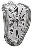 ダリ 柔らかい 時計 インテリア 置き時計 90度曲がった アート クロック アイデア グッズ おもしろ 時計