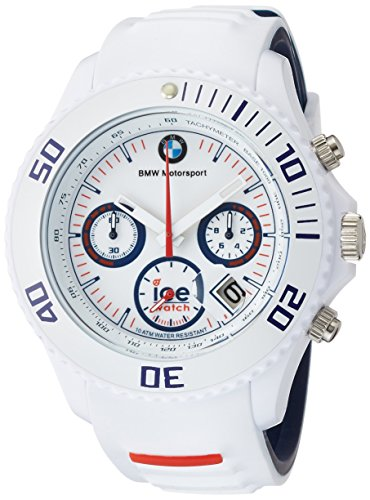 Ice-Watch Herren-Armbanduhr Analog Quarz Silikon BM.CH.WE.BB.S.13