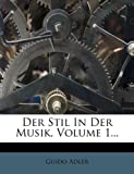 img - for Der Stil in der Musik. (German Edition) book / textbook / text book