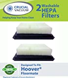 2 Hoover Floormate Washable Reusable HEPA Filter Compare To Hoover Vacuum Floor Mate Filter Part # 40112050 Designed & Engineered By Crucial Vacuum