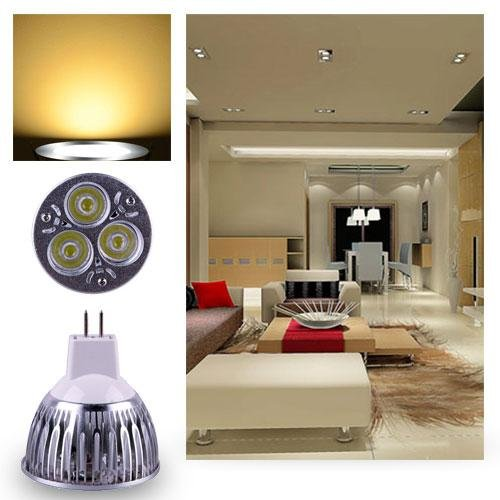 Ultra Bright Mr16 9W Led Spot Light Downlight Lamp Bulb Warm White F2Home Useful