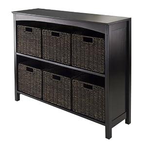 storage shelf with basket drawers for kids. Black Bedroom Furniture Sets. Home Design Ideas