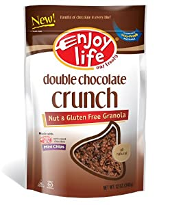 Enjoy Life Double Chocolate Crunch Granola, 12-Ounce (Pack of 3)