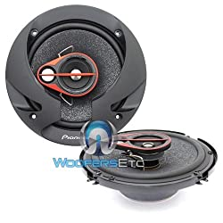 Pioneer - TS-R1650S - 6 Inch Shallow Mount 3-Way Speaker (250 W)
