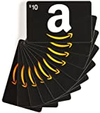Amazon.com Gift Cards, Pack of 10 (Various Card Designs)