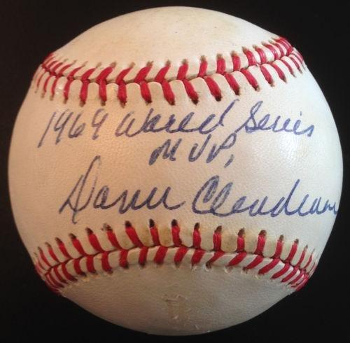 Fanatics Authentic Certified Paul ONeill New York Yankees Autographed 1996 World Series Logo Baseball