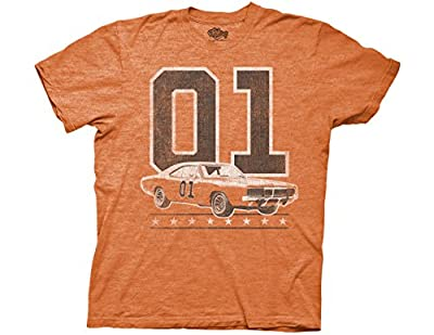 Ripple Junction Dukes of Hazzard 01 General Lee Vintage Adult T-Shirt