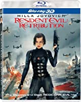 Resident Evil: Retribution 3D (Two-Disc Combo: Blu-ray + UltraViolet Digital Copy) by Sony Pictures Home Entertainment